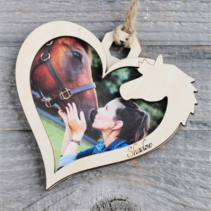 Horse Ornament Frame by Spirithorse Designs