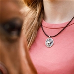 Epona Sterling Silver Horse Necklace