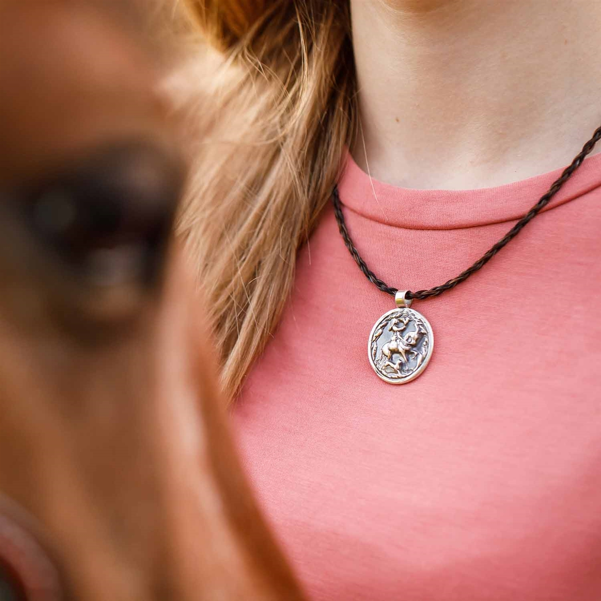 Spirithorse designs epona sterling silver necklace epona sterling silver horse necklace mozeypictures Image collections