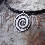 Celtic Spiral Sterling Silver Necklace