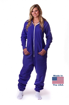 CoZone USA Adult Onesie - Purple
