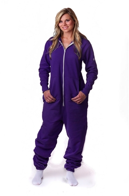 CoZone Global Adult Onesie - Purple