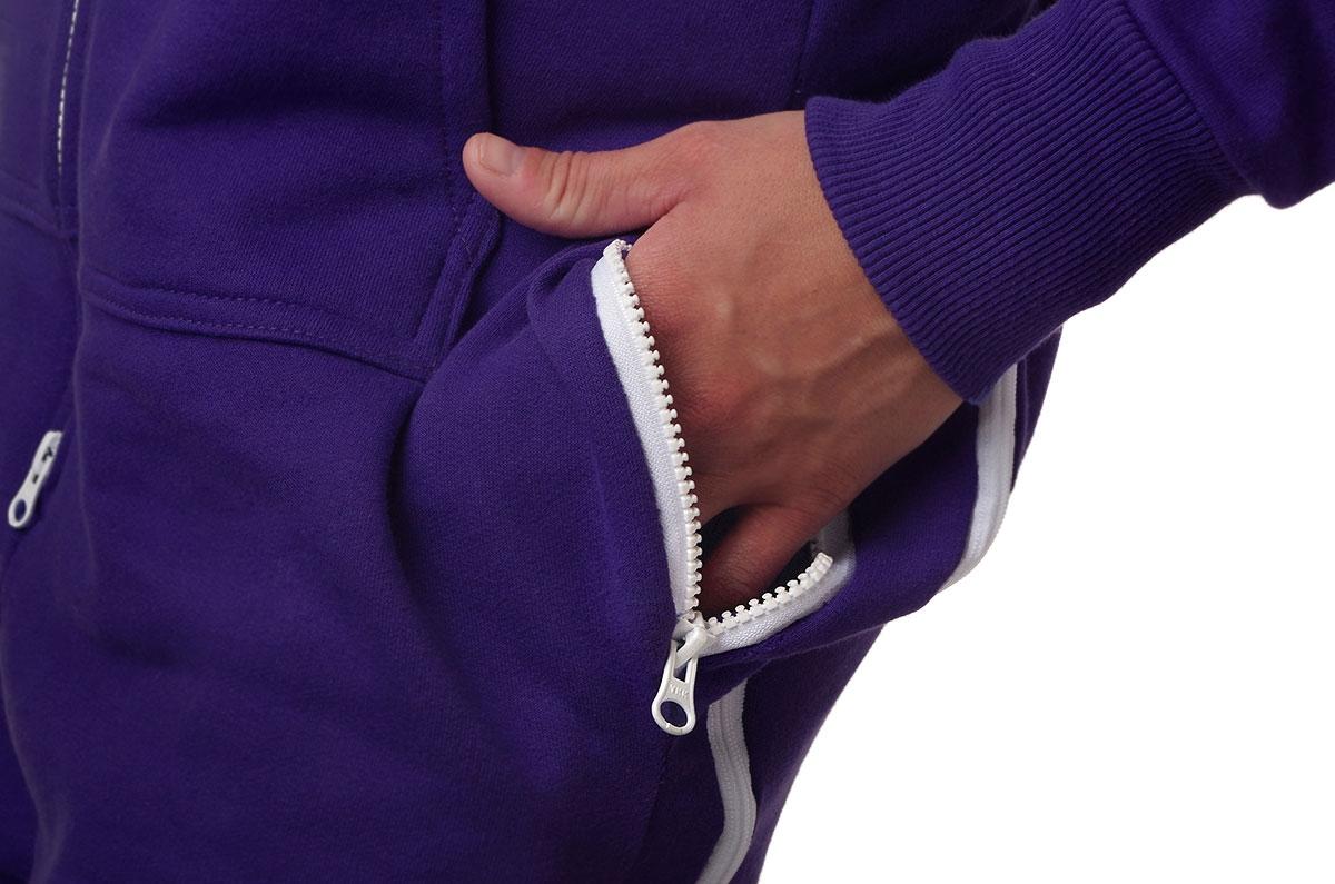 2277459244 CoZone Global Adult Onesie - Purple