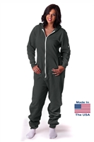 CoZone USA Adult Onesie - Graphite