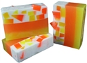 Candy Corn Glycerin Soap
