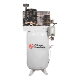 Chicago Pneumatic - 5 HP Single Phase 80 Gal Vertical Tank