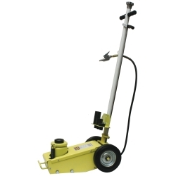Yellow Jackit 25 Ton 2 Stage Air/Hydraulic Jack