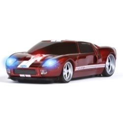 Ford GT (Red w/White Stripes) WL Mouse