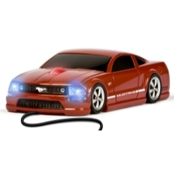 Mustang GT (Red) - Wired Mouse