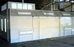 Hygieia Deluxe 27 SDD SPRAY BOOTH (semi down draft)
