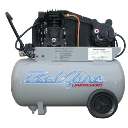 2 HP 20 Gallon 115 Volt Single Phase Portable Compressor