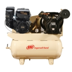 Ingersoll Rand - 14 hp Gas Drive Air Compressor - Kohler Engine