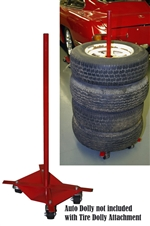 Tire Stack Attachment for the Auto Dolly
