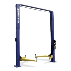 Mountain 12K 2 Post Lift Uninstalled - Blue
