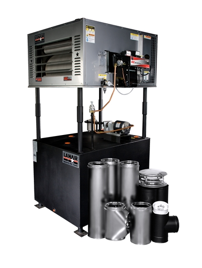 MX-150 Waste Oil Heater by Lanair - Value Package B