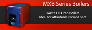 MXB-250 Waste Oil Boiler by Lanair