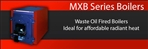 MXB-400 Waste Oil Boiler by Lanair