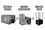 MXD-300 Waste Oil Heater by Lanair - Value Pkg D - Ductable