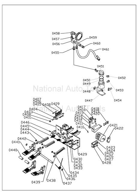 ntc-950 parts breakdown
