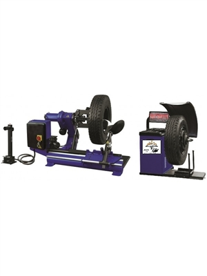 Heavy Duty Tire Changer and Wheel Balancer Combo Package