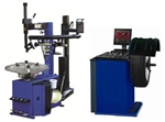 Tire Changer and Wheel Balancer Combo Package