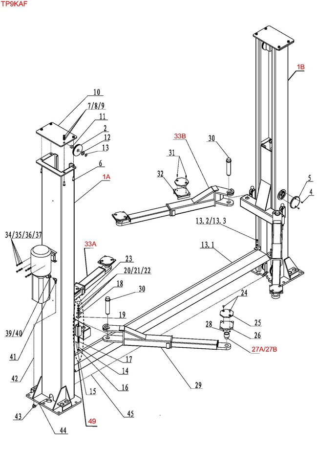 9000 lb eagle lift wiring diagram eagle lift wiring diagram of