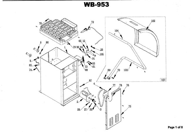 Wb 953 Wheel Balancer With Hood