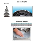 Wheel Weight For Steel and Adhesive Wheel Weight