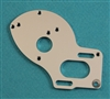 XF-1234 Motor Plate, 4-Gear, Lowered