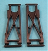 XF-3011 Control Arms, Rear, Graphite, X - 60, SCX - 60CF