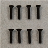 XF-6024 4-40 X 5/8  Flat Head.  8  per pack.