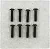 XF-6043 4-40 x 1/2  Button Head.  8  per pack.