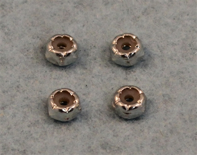 XF-6072 4-40 Nylock Nut, Low Profile.  4  per pack.