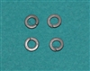 XF-6082 #4 Split Ring Lock Washers 4/Pack
