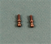 XF-6171 Ballstud, Lunsford Ti, broached 1/4.  2  per pack.
