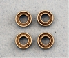XF-6200 Bearing, 3/16 x 3/8 Rubber Seal,  4  per pack.