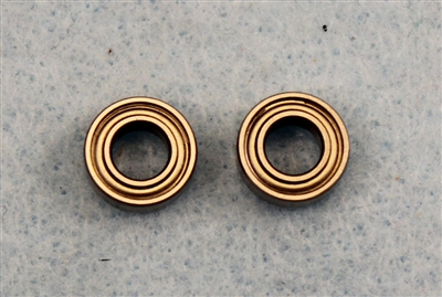 Bearing, 3/16 X 3/8  Metal Shield, 2  per pack.