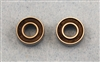 XF-6241 Bearing, 5 x 13 x 5 mm, Rubber Seal, 2 per pack