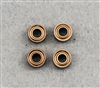 Bearing,  3 x 7 x 3 mm, Metal Shield, 4  per pack.