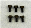 XF-6602 3 X 6 mm Cap Head  (Motor Screw) .  6  per pack.