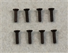 XF-6625 3 X 12 mm Flat Head .  8  per pack.