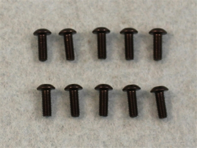 XF-6643 3 X 8 mm Button Head.  10  per pack.