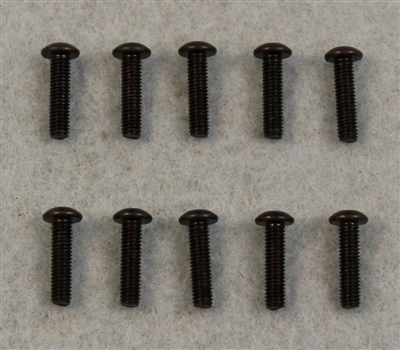 XF-6645 3 X 12 mm Button Head.  10  per pack.