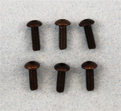XF-6745  4x12mm Button Head, 6 / pack