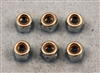 XF-6771  4mm Locking Nut, 6 / pack