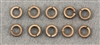 4mm Split Ring Lock Washers 10/Pack