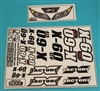 XF-8242 Decals, X - 60CF