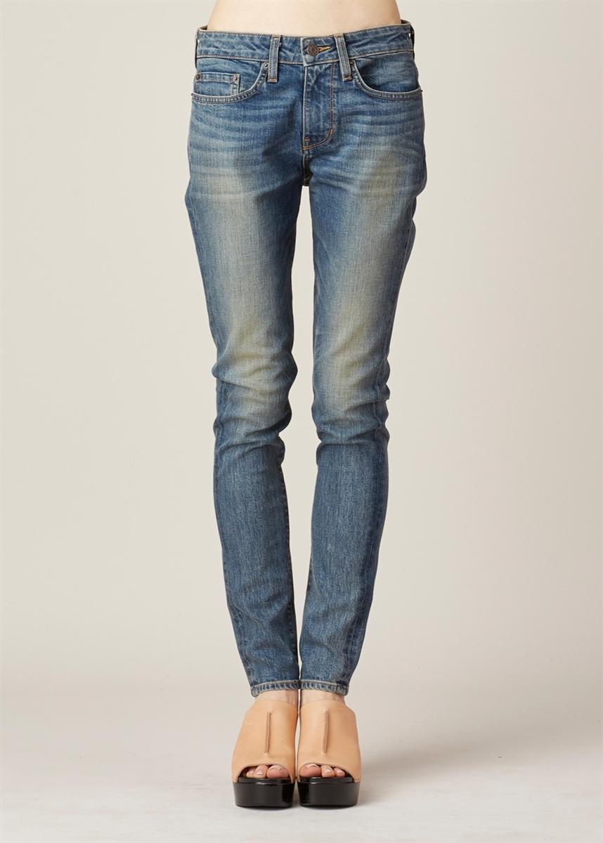 50f3631d71faa The News 6397 Denim Skinny Leg Jeans Dirty Light Blue Wash Size 29-Premium  Denim