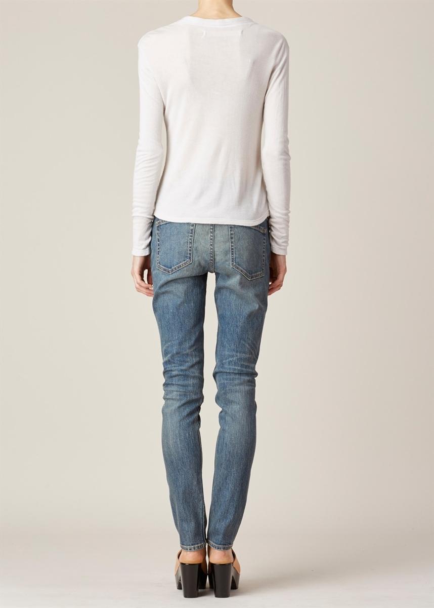 1aa150f5304db The News 6397 Denim Skinny Leg Jeans Dirty Light Blue Wash Size 29 ...