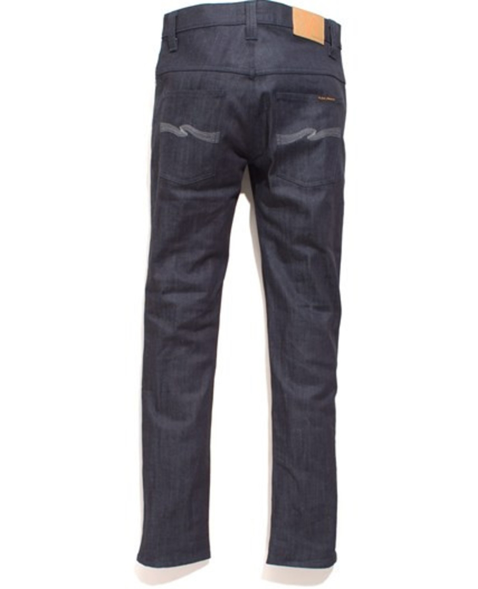 66bb9830593fe men s Nudie jeans tape ted grey embo blue stretch